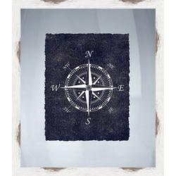 Nautical Icons III Framed Wall Art