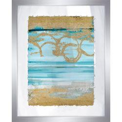 PTM Images Shiny Coastal Sands III Framed Wall Art