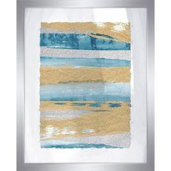 PTM Images Shiny Coastal Sands IV Framed Wall Art
