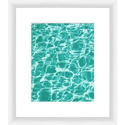 PTM Images Clear Aquas II Framed Wall Art