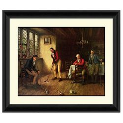 PTM Images Indoor Putt Framed Wall Art