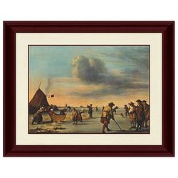 PTM Images Ice Play Framed Wall Art