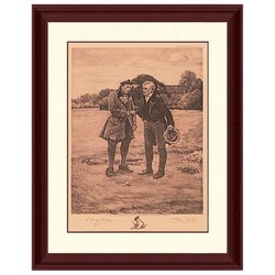 PTM Images First Tee Framed Wall Art