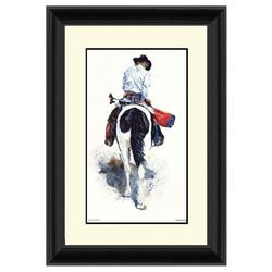 PTM Images Round Of Ranch Framed Wall Art