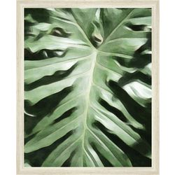 PTM Images Tropical Leaf Framed Wall Art