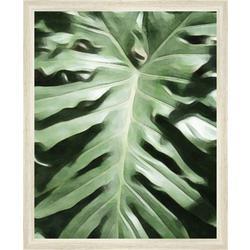 Tropical Leaf Framed Wall Art
