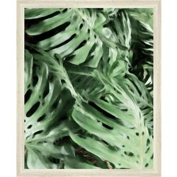 PTM Images Tropical Leaves Framed Wall Art
