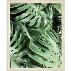 Tropical Leaves Framed Wall Art