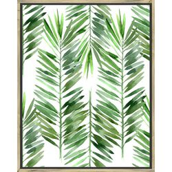 PTM Images The Palms I Framed Wall Art