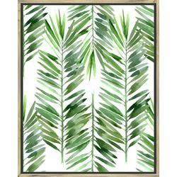 The Palms I Framed Wall Art