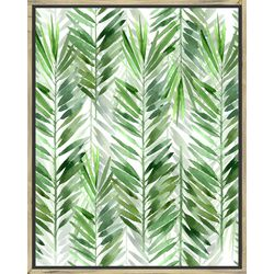 PTM Images The Palms II Framed Wall Art