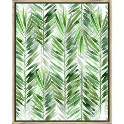 The Palms II Framed Wall Art