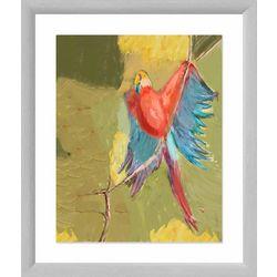 PTM Images Love Bird Framed Wall Art