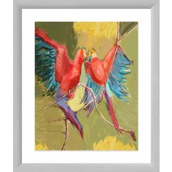 PTM Images Love Birds Framed Wall Art