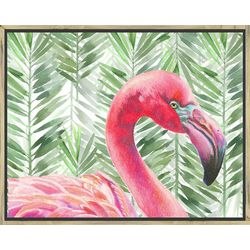 Flamingo Framed Wall Art