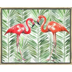 PTM Images Flamingos Framed Wall Art