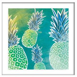 PTM Images Pineapples I Framed Wall Art