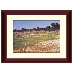 PTM Images Shinnecook 18th Hole Framed Wall Art