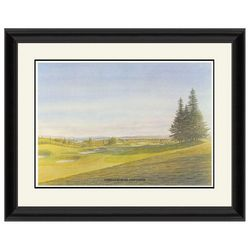 PTM Images Gleneagles Hotel Golf Course Framed Wall Art