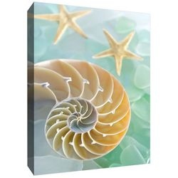 PTM Images Crystal Spiral Canvas Wall Art