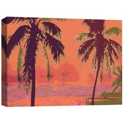 PTM Images Hot Summer II Canvas Wall Art