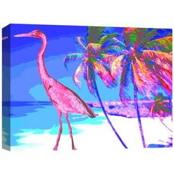 Hot Summer III Canvas Wall Art