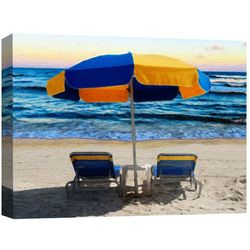 PTM Images Next To The Beach Canvas Wall Art