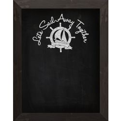 Let's Sail Away Chalkboard
