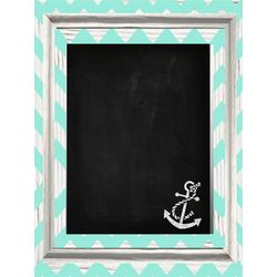 Anchor Chevron Chalkboard