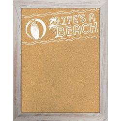 PTM Images Life's A Beach Corkboard