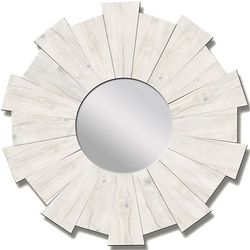 PTM Images White Wash Burst Mirror