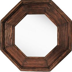 PTM Images Octagonal Framed Mirror