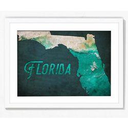 PTM Images Florida Framed Wall Art