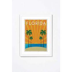 PTM Images Retro Florida Framed Wall Art