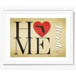 PTM Images Love Home Framed Wall Art