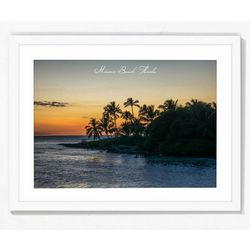 PTM Images Miami Beach Florida Framed Wall Art