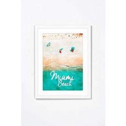PTM Images Beauty Beach Framed Wall Art