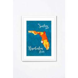 PTM Images Bradenton Florida II Framed Wall Art