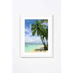 PTM Images Beautiful Ocean View Framed Wall Art