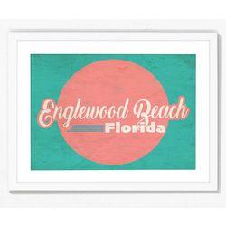 PTM Images Englewood Beach Florida II Framed Wall Art