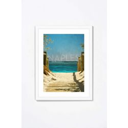 PTM Images Naples Florida II Framed Wall Art