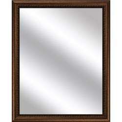 Notched Frame Vanity Mirror