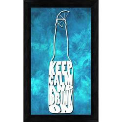 PTM Images Keep Calm And Drink On Wall