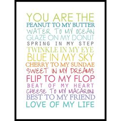 PTM Images You Are The... Wall Art