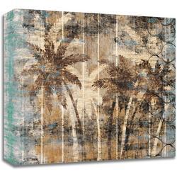 40'' Modern Palm Trees Canvas Wall Art