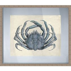 PTM Images Crab Wood Framed Wall Art