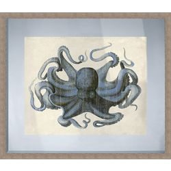 PTM Images Octopus Framed Wall Art