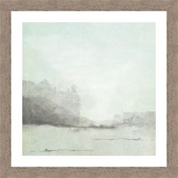 PTM Images Misty Seaside I Framed Wall Art