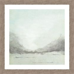 PTM Images Misty Seaside II Framed Wall Art