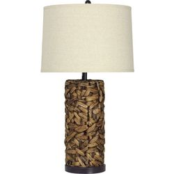 StyleCraft Tall Water Hyacinth Table Lamp